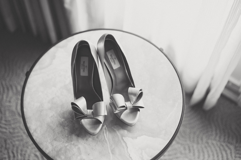 Elegant Outdoor Wedding, Blush Tones Shoes