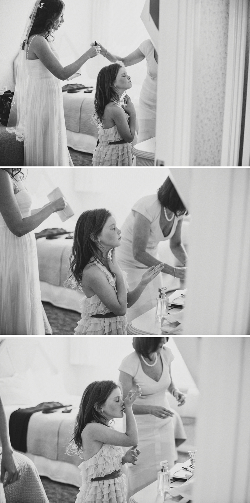Candid wedding moments